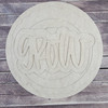"""18"""" Grow Wood Slice Stacked Décor Kit, Unfinished 3 Piece Set"""