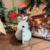 Build A Snowman, Unfinished Snowman Set, MDF Craft Set