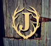 Antler Times Framed Letter Wooden  Unfinished  DIY Craft