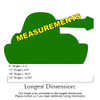 ArmyTank Unfinished Cutout, Wooden Shape, Paintable MDF  Craft