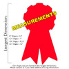 Award Ribbon Unfinished Cutout, Wooden Shape, Paintable Wooden MDF