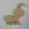 Critter Ant Unfinished Cutout, Wooden Shape, MDF DIY Craft