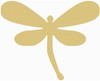 Critter Dragonfly Unfinished Cutout, Wooden Shape, MDF DIY Craft