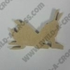 Critter Grasshopper Unfinished Cutout, Wooden Shape, MDF DIY Craft