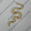Critter Skinny Snake Unfinished Cutout, Wooden Shape, MDF DIY Craft