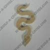 Critter Snake Unfinished Cutout, Wooden Shape, MDF DIY Craft