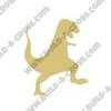 Dinosaur T-Rex(1) Unfinished Cutout, Wooden Shape, Paintable Wooden