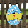 Egg Unfinished Cutout Paintable Wooden MDF