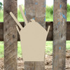 Chinese Takeout Unfinished Cutout, Wooden Shape, MDF DIY