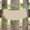 Hotdog Unfinished Cutout, Wooden Shape, MDF DIY Craft