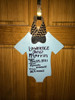 Baby Announcement Onesie Unfinished Cutout Wood Shape