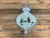 Christmas Ornament 2 Unfinished Cutout, Wooden Shape, Paintable MDF