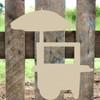 Hotdog Cart Unfinished Cutout, Wooden Shape, MDF DIY Craft