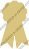 Prize Ribbon Unfinished Cutout, Wooden Shape, Paintable Wooden MDF
