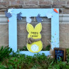 Snow Bunny Unfinished Cutout, Wooden Shape, Paintable Wooden MDF