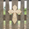 Unfinished Wooden Stacked Kit 3 Layered Crosses 16'' Sets Paintable Craft
