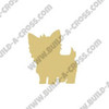 Tea Cup Yorkie Unfinished Cutout, Wooden Shape, Paintable Wooden MDF