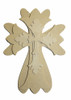 Unfinished Wooden Stacked Kit 6 Layered Crosses 9.5'' Sets Paintable