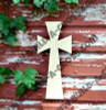 Cross 14 Unfinished Wooden Paintable build-a-cross
