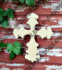 UNFINISHED WOODEN CROSS Paint-able WALL HANGING STACKABLE CROSS 36