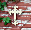 UNFINISHED WOODEN CROSS Paint-able WALL HANGING STACKABLE CROSS 4