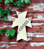 UNFINISHED WOODEN CROSS Paint-able WALL HANGING STACKABLE CROSS(46)