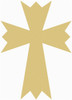 UNFINISHED WOODEN CROSS Paint-able WALL HANGING STACKABLE CROSS (48)