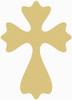 UNFINISHED WOODEN CROSS Paint-able WALL HANGING STACKABLE CROSS (52)