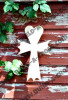 Paint-able Wall Hanging Stackable Cross Unfinished Wooden Cross