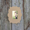 Unfinished Whimsicle Picture Frame Wooden Paintable Wood Art DIY