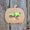 Unfinished Picture Frames Paintable Cutout Shape Pumpkin