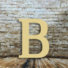 Wood letters for crafts Beta are cheap wooden letters for nursery