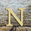 Personalized wall letters Nu