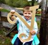 Unfinished DIY Letter Wooden Decor-Y