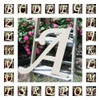Custom Wooden Letter Wall Decor Monotype