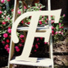 Custom Wooden Letter Wall Decor Monotype-F