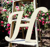 Custom Wooden Letter Wall Decor Monotype-H