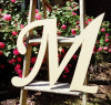 Custom Wooden Letter Wall Decor Monotype-M