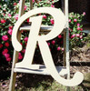 Custom Wooden Letter Wall Decor Monotype-R