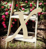 Custom Wooden Letter Wall Decor Monotype-X