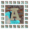 Unfinished Rockwell Wooden Large Wall Letters