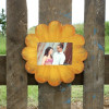 Unfinished Circle Scallop Picture Frame Wood Paint Wood Art