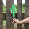 Unfinished outdoor DIY wooden yard art pattern cactus sign