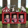 Circus Photo Picture Frame Unfinished, DIY