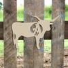 Longhorn Monogram Beltorian Letter Wooden - Unfinished  DIY Craft
