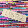 Wooden Name Puzzle , 11 Letter Unfinished Personalized Wood Puzzles