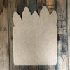 Pack of Crayons Unfinished Cutout, Wooden Back to School Shape MDF Cutout DIY Project
