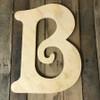 Wood Pine Letters, Large Wooden Letters, Beltorian Font