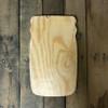 Wooden Pine Cutout, Mason Jar, Unfinished Wood Shape, DIY