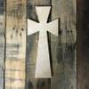 Wooden Wall Cross, Paint-able Cross Craft, Wall Art Pine (14)